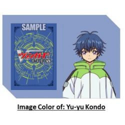 CFV Box Topper Yu-yu Kondo Ride Deck sleeves (include 4 pieces of sleeves)