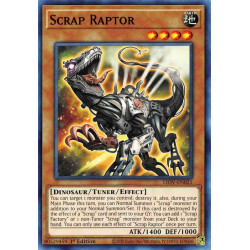 YGO LIOV-EN021 C Scrap Raptor