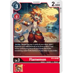 BT4-009 C Flamemon Digimon