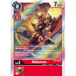 BT4-016 SR Aldamon Digimon
