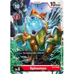 BT4-018 U Spinomon Digimon