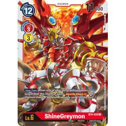 BT4-020 R ShineGreymon Digimon