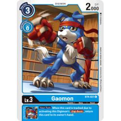 BT4-021 C Gaomon Digimon