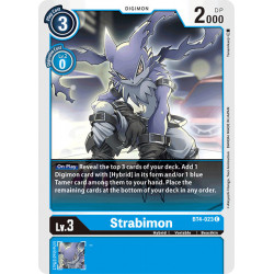 BT4-023 C Strabimon Digimon