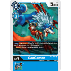 BT4-026 C GaoGamon Digimon