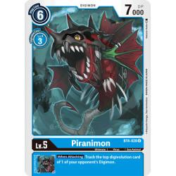 BT4-028 U Piranimon Digimon
