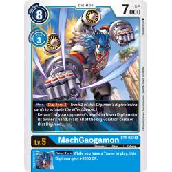 BT4-032 R MachGaogamon Digimon