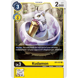 BT4-037 C Kudamon Digimon