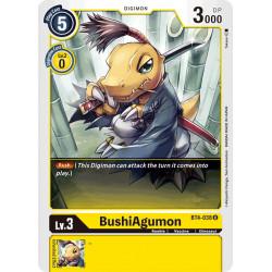 BT4-038 U BushiAgumon Digimon