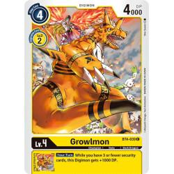 BT4-039 C Growlmon Digimon