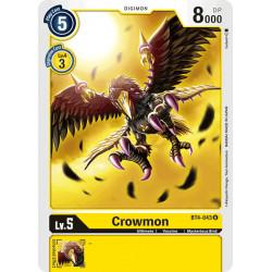 BT4-043 U Crowmon Digimon