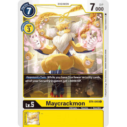 BT4-045 C Maycrackmon Digimon