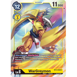 BT4-048 SR WarGreymon Digimon