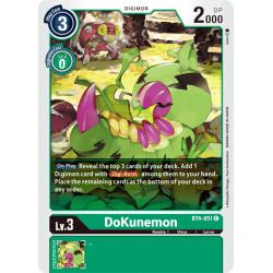 BT4-051 C DoKunemon Digimon