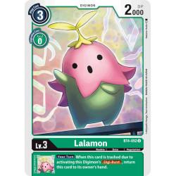 BT4-052 U Lalamon Digimon
