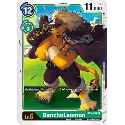 BT4-061 R BanchoLeomon Digimon