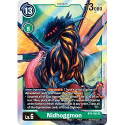 BT4-062 SR Nidhoggmon Digimon