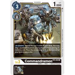 BT4-063 R Commandramon Digimon