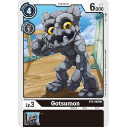 BT4-065 C Gotsumon Digimon
