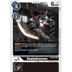 BT4-067 U Sealsdramon Digimon