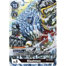 BT4-075 SR Blastmon Digimon