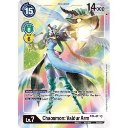 BT4-091 SR Chaosmon: Valdur...