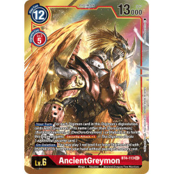 BT4-113 SEC AncientGreymon...