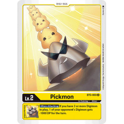BT5-003 U Pickmon Digi-Egg