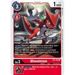 BT5-009 U Shoutmon Digimon
