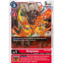 BT5-010 U Greymon Digimon
