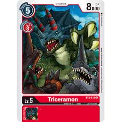 BT5-013 C Triceramon Digimon