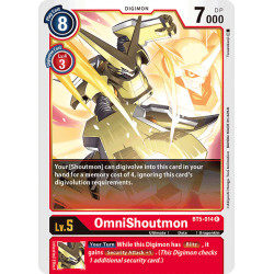 BT5-014 R OmniShoutmon Digimon