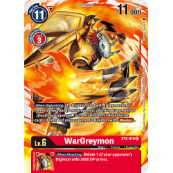 BT5-016 R WarGreymon Digimon