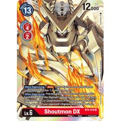 BT5-019 SR Shoutmon DX Digimon
