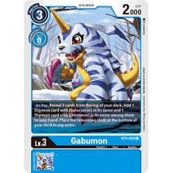 BT5-020 U Gabumon Digimon