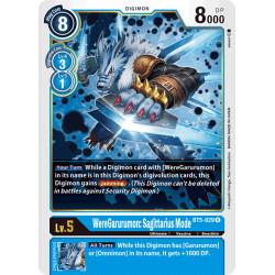 BT5-029 R WereGarurumon:...