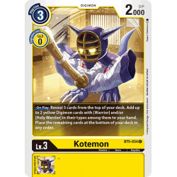 BT5-034 C Kotemon Digimon