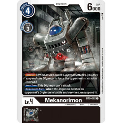 BT5-062 C Mekanorimon Digimon