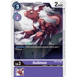 BT5-071 U Guilmon Digimon