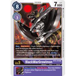 BT5-079 R BlackWarGrowlmon...