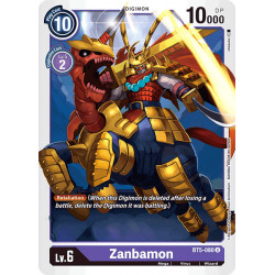 BT5-080 U Zanbamon Digimon