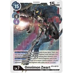 BT5-087 SR Omnimon Zwart...