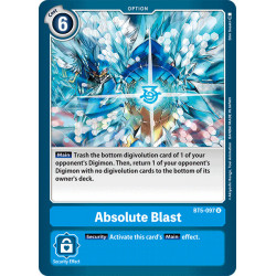 BT5-097 U Absolute Blast...