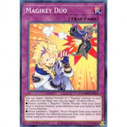 YGO DAMA-EN072 C Magikey Duo
