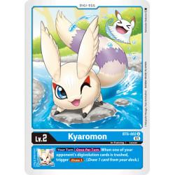 BT6-002 U Kyaromon Digi-Egg
