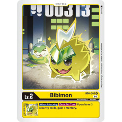 BT6-003 U Bibimon Digi-Egg