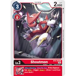 BT6-008 C Shoutmon Digimon