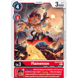 BT6-010 U Flamemon Digimon