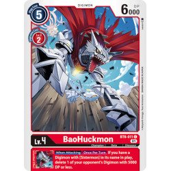 BT6-011 C BaoHuckmon Digimon