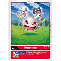 ST1-01 U Koromon Digi-Egg